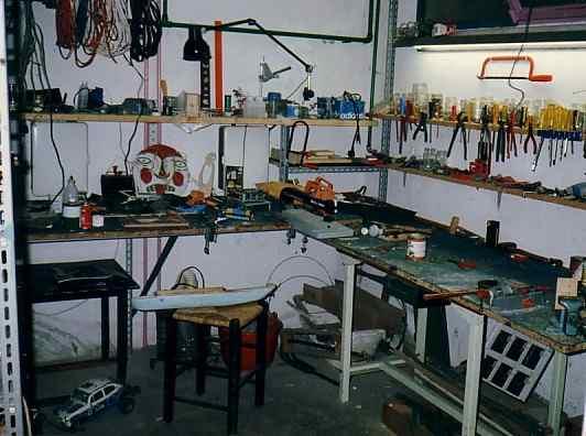 Rangement Atelier Bricolage